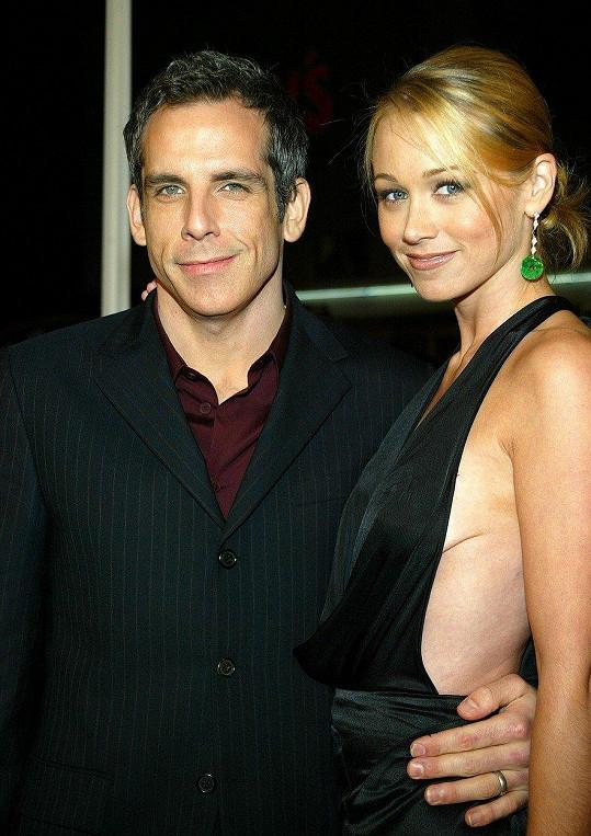 Stiller s manželkou Christine Taylor. Letos v květnu ohlásili rozchod.