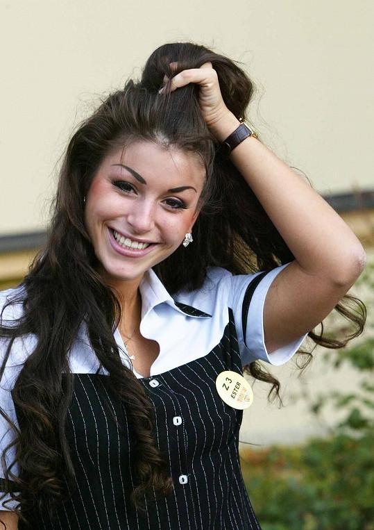 V roce 2004, kdy soutěžila v reality show Milionový pár.