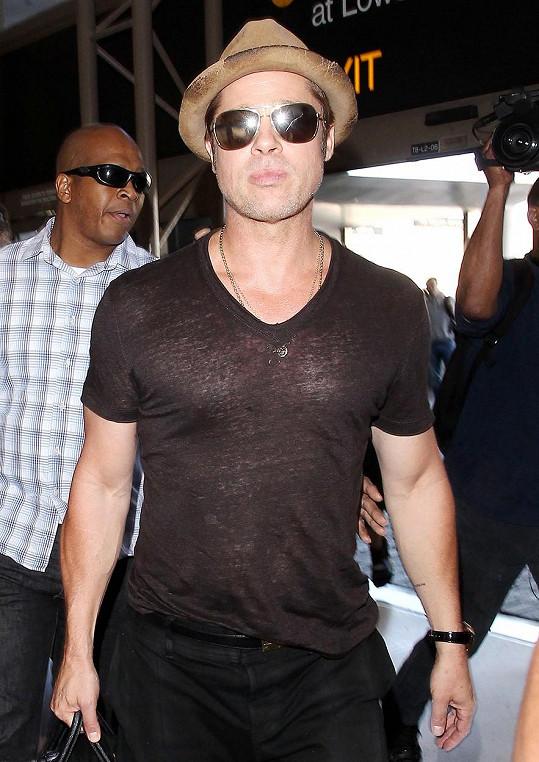A o víkendu na letišti v Los Angeles...