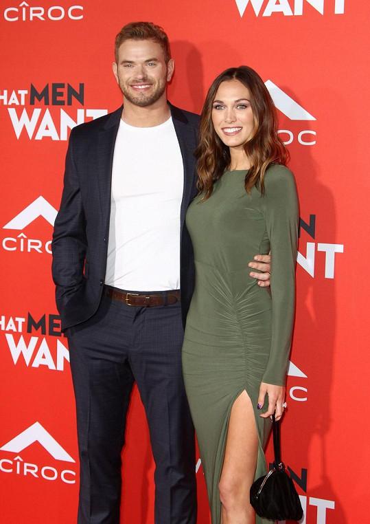 Kellan Lutz s manželkou Brittany Gonzales čekají prvního potomka.