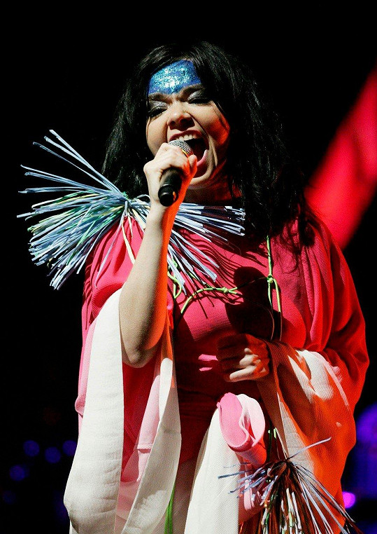 Zpěvačka Björk