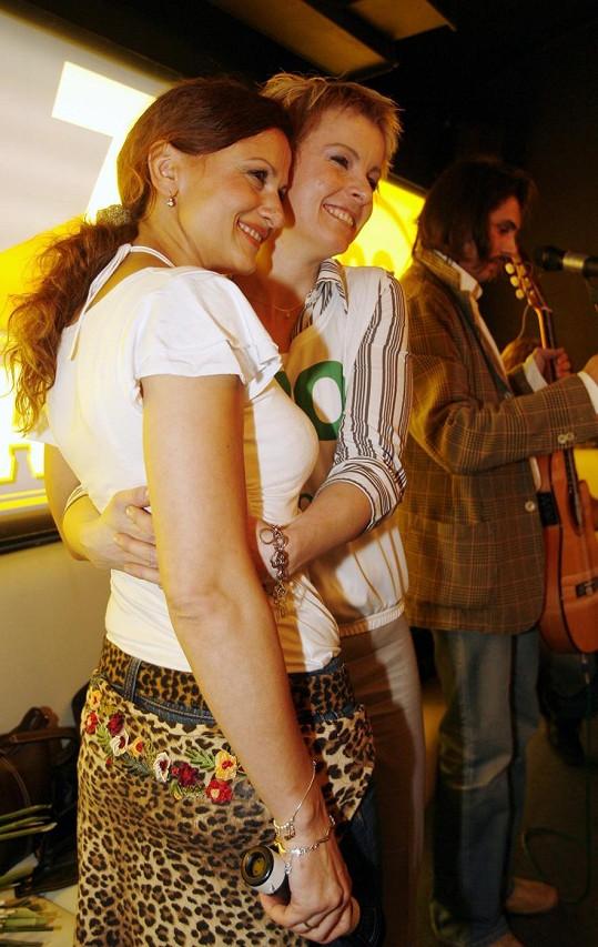 Iveta s Yvettou Blanarovičovou