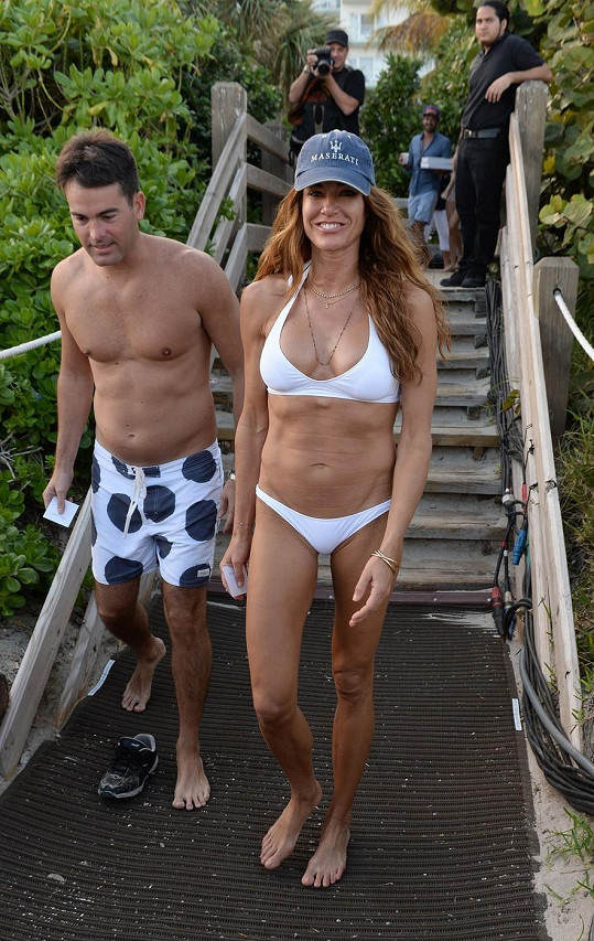 Kelly Bensimon s partnerem