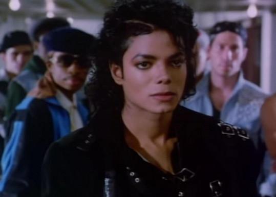Michael Jackson ve videoklipu k slavné písní