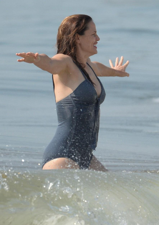 Víkend si užívala na pláži v LA.