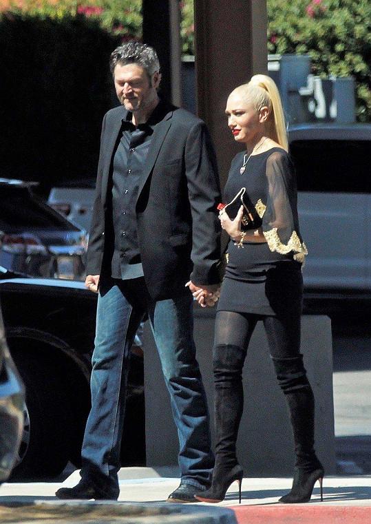 Gwen a Blake se poznali díky televizní show The Voice.
