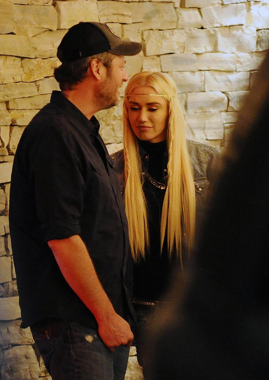 Gwen a Blake spolu vyrazili na rande.