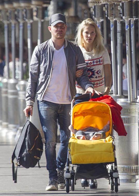 Michael Bublé rozšiřuje svou rodinu.