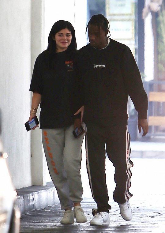 Kylie Jenner s Travisem Scottem