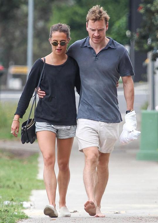 Alicia a Michael v roce 2014