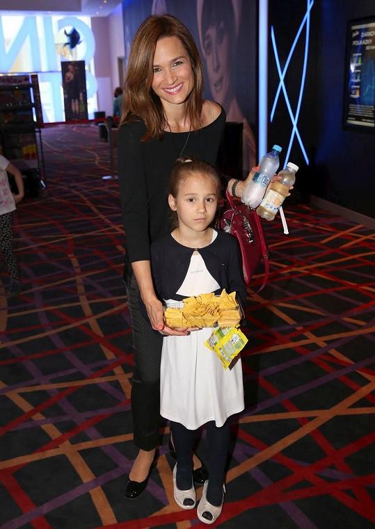 S mladší Miou také v kině