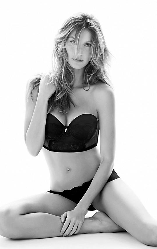 Gisele je nejlépe placenou modelkou světa.