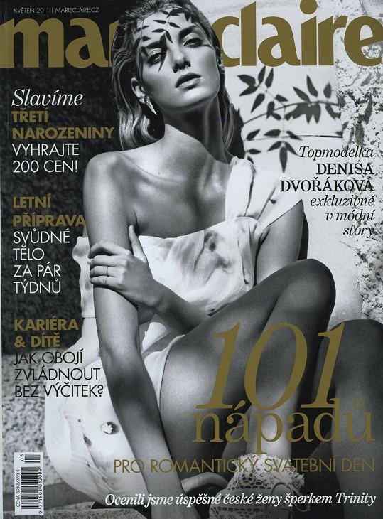 Kráska z lesklých obálek módních časopisů