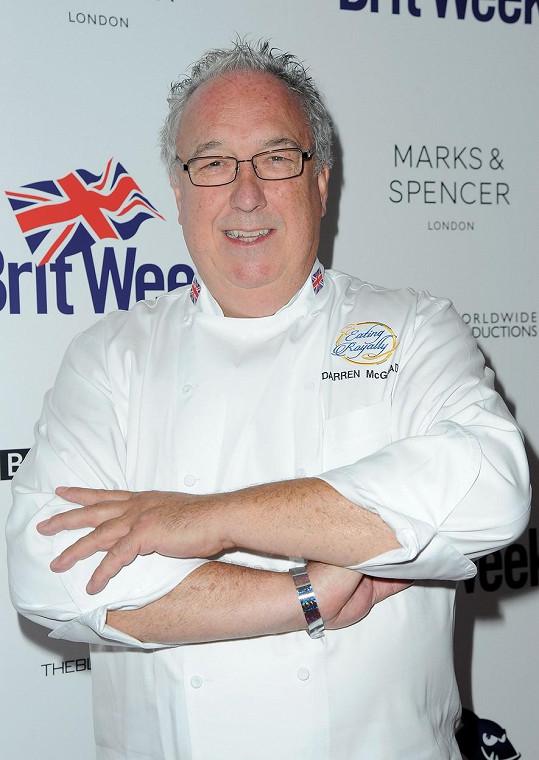 Darren McGrady vedl královskou kuchyni jedenáct let.