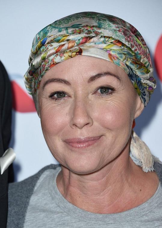 V roce 2015 jí byla diagnostikována rakovina prsu a přišla o své vlasy.
