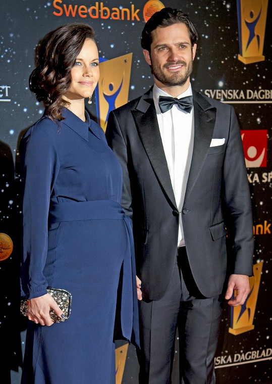 Těhotná Sofia vyrazila s manželem na udílení sportovních cen.