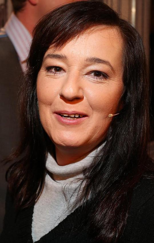 Žaneta Fuchsová se proslavila i seriálem Vlak dětství a naděje.