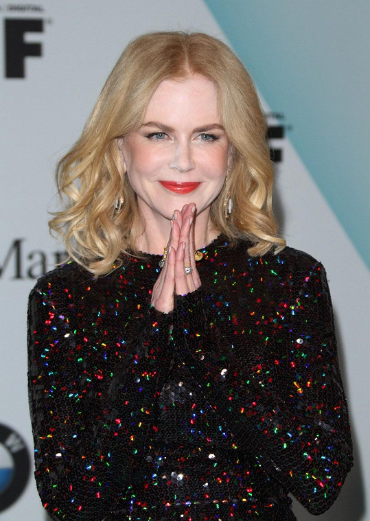 Nicole Kidman na Women In Film 2015 Crystal + Lucy Awards
