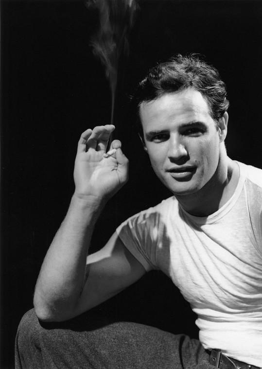 Marlon Brando byl nejplodnějším hollywoodským hercem.