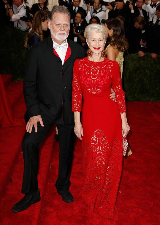 Herečka s manželem Taylorem Hackfordem