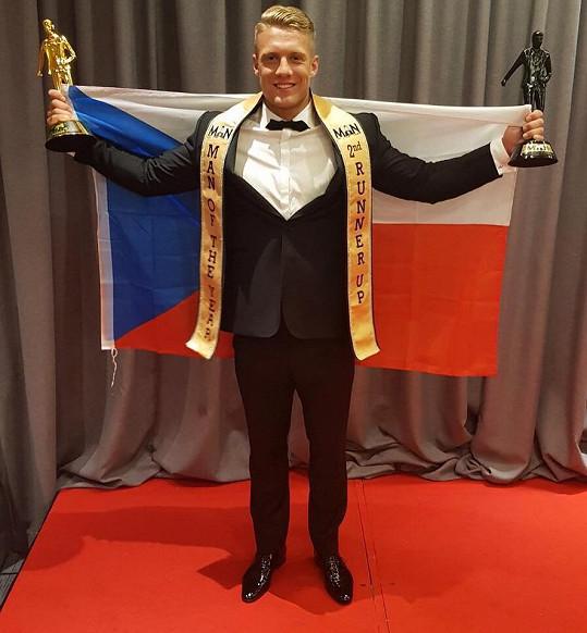 Lukáš Lesák Českou republiku prezentoval skvěle.