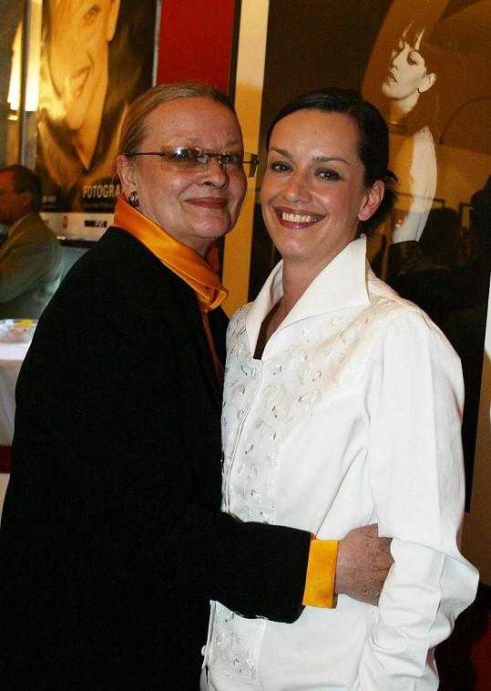 Jana Brejchová s dcerou Terezou Brodskou