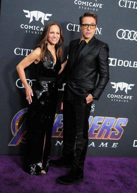 Robert Downey Jr. a Susan