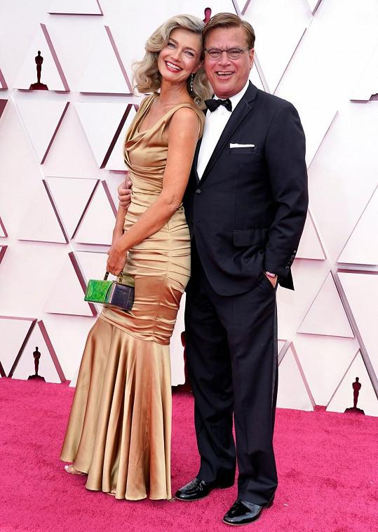 Aaron Sorkin je scenárista a držitel Oscara za scenář k filmu Sociální síť.