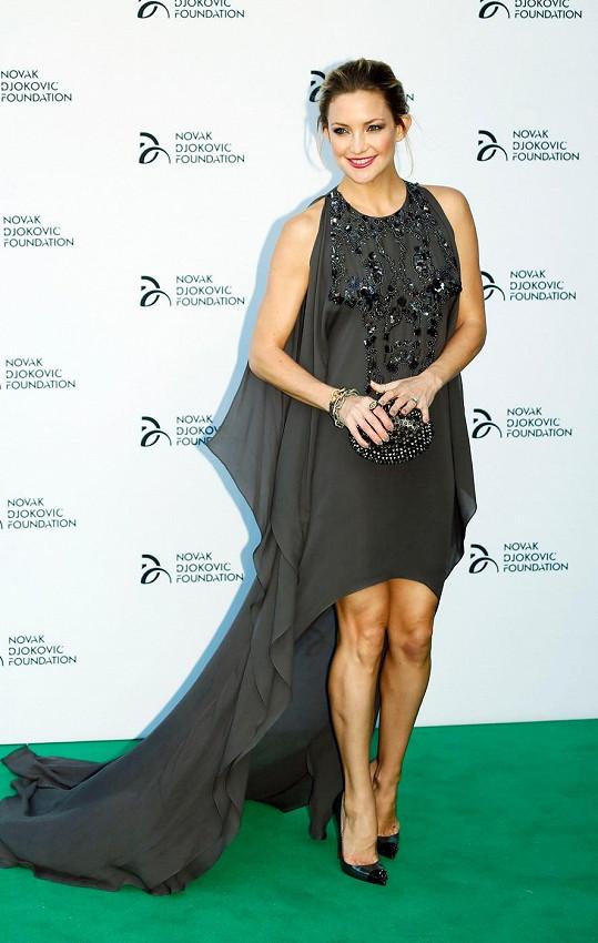 Akce se účastnila i její dcera Kate Hudson.