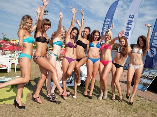 Makarenko se semifinalistkami Miss léta