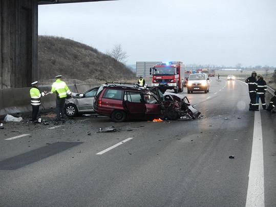 Dopravní nehoda vypadala děsivě.