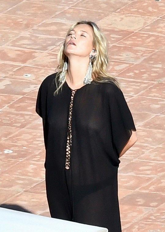 Kate fotila v Itálii kampaň pro Yves Saint Laurent.