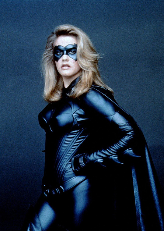 Alicia jako Batgirl ve filmu Batman a Robin (1997)