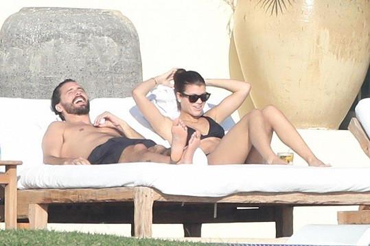 Sofia Richie a Scott Disick si užívali dovolenou v Mexiku.