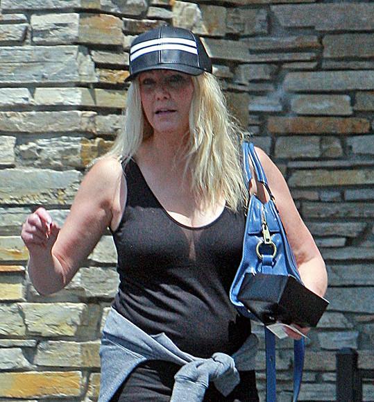 Heather Locklear asi nečekala, že narazí na paparazzi.