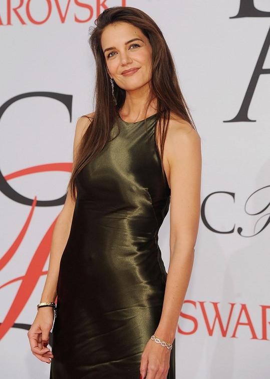 Katie Holmes na CFDA Fashion Awards