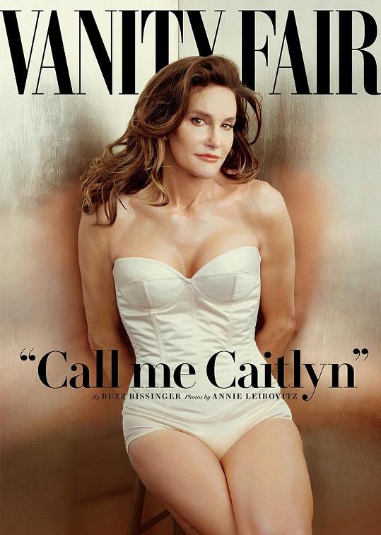 Po své proměně nafotila Caithlyn sexy snímky pro Vanity Fair.