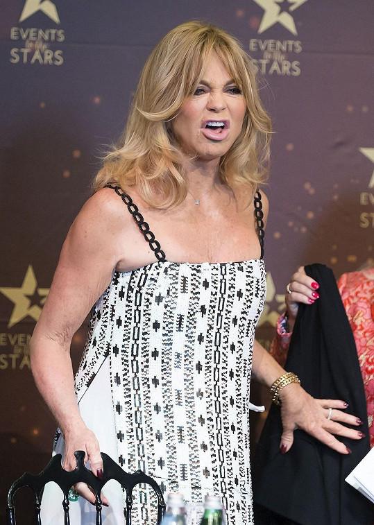 Goldie v Austrálii představila svou show.