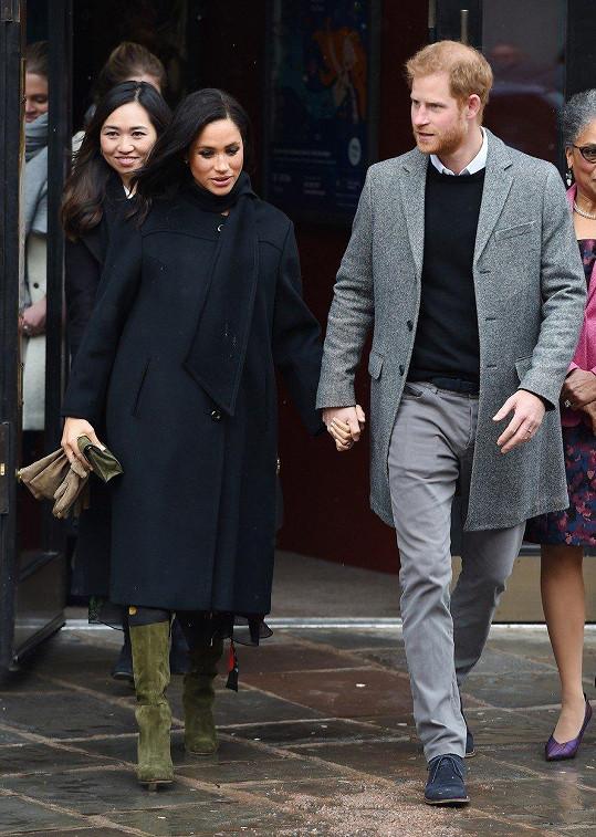 Meghan a Harry podpořili charitativní organizace.