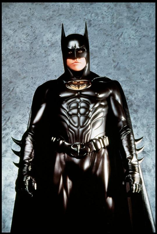 Val Kilmer ve filmu Batman navždy (1995)