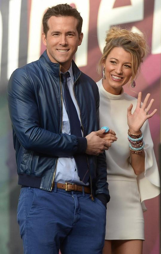 Ryan Reynolds a Blake Lively