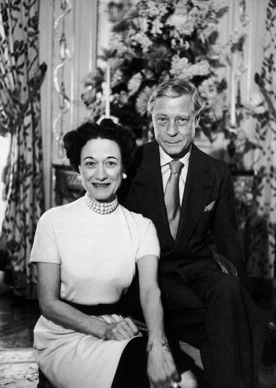 Edward VIII. se oženil s Američankou Wallis Simpson