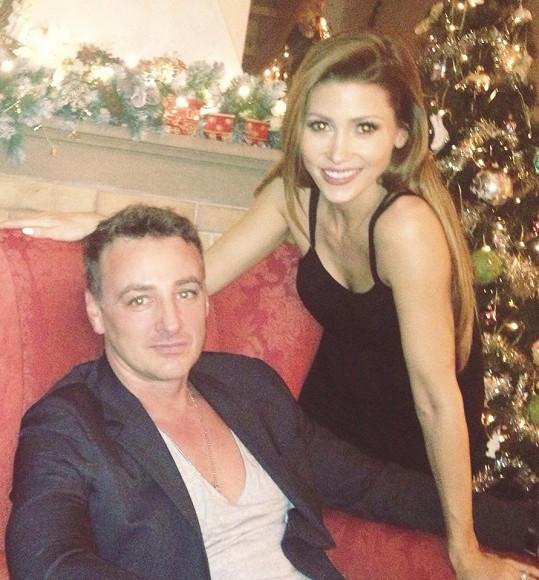S manželem Reném.