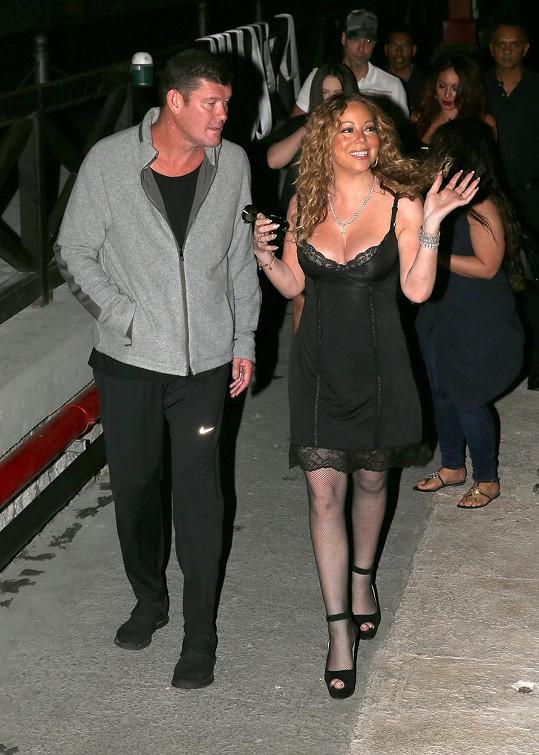 S budoucí manželkou Mariah Carey