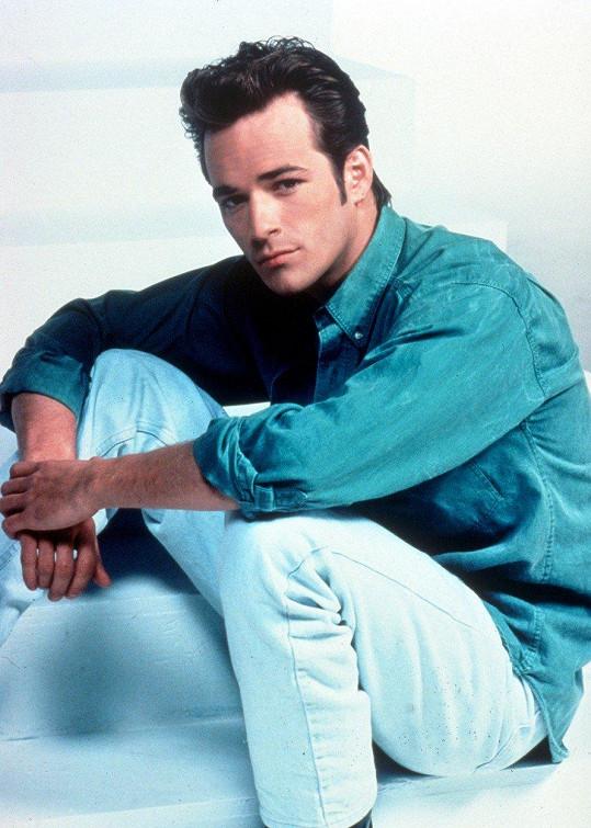 Luke Perry jako Dylan v seriálu Beverly Hills 90210