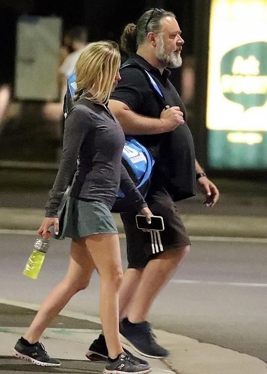 Russell Crowe se snaží dostat zpátky do formy.