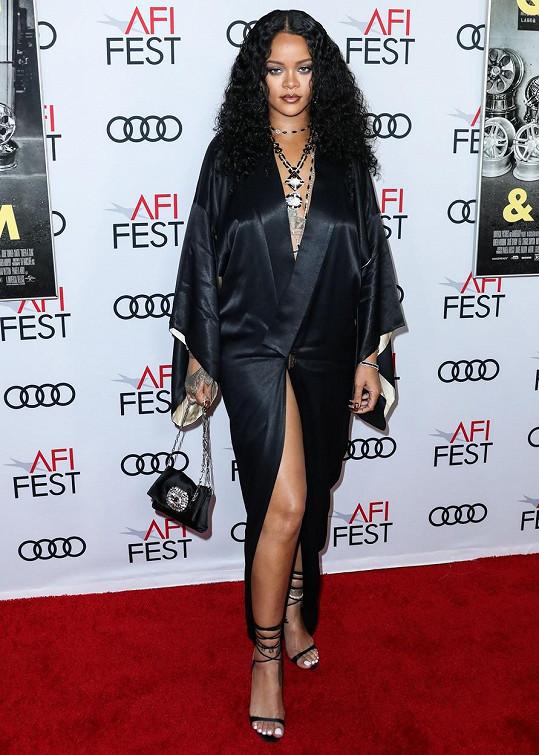 Rihanna v posledních letech boduje s módní značkou Fenty.