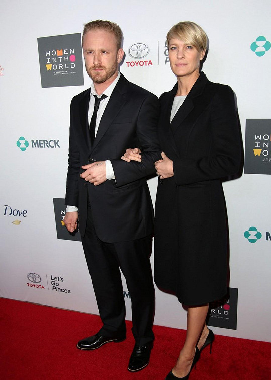 Robin Wright zrušila zásnuby s Benem Fosterem