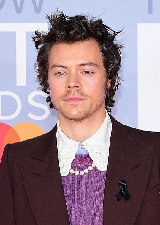 Zpěvák Harry Styles.