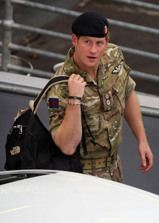 Princ Harry minulý měsíc po příletu do Austrálie